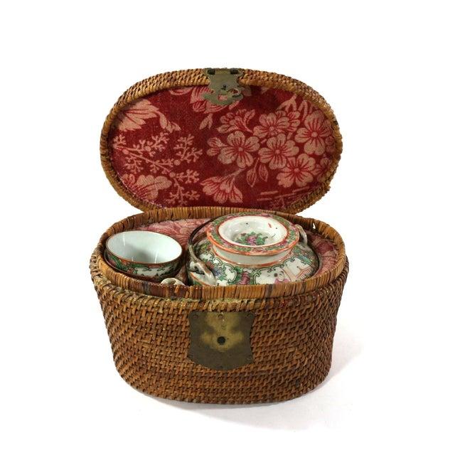 1870s Rose Medallion High Tea Set - Image 1 of 9