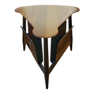 1950s Mid-Century Modern Edward Wormley for Dunbar Magazine Table For Sale