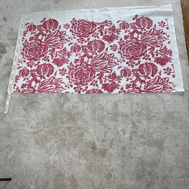 Carolina Irving Exotic Bloom Fabric For Sale - Image 4 of 5