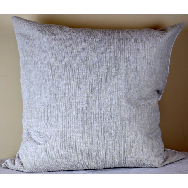Paris Photo Pillow by Swede Collection. Architectural fragment from a French altar photo printed on linen canvas. Back...