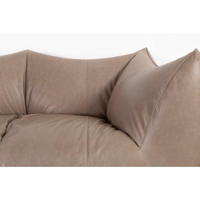 Leather Mario Bellini Bambole Sofa for B & B Italia For Sale - Image 7 of 11