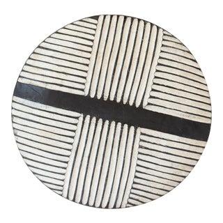 Vintage African Carved Shield For Sale