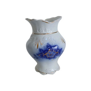 Antique Flow Blue Toothbrush Holder Preview