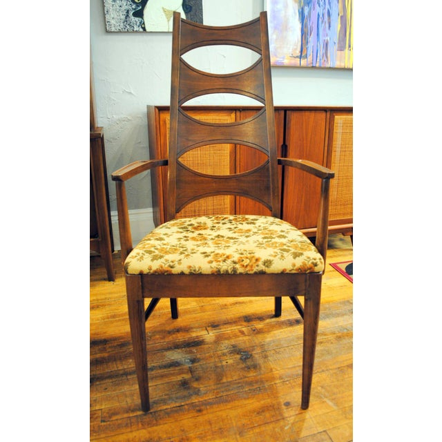 Kent Coffey Mid-Century Perspecta Dining Chairs - Set of 8 - Image 7 of 11