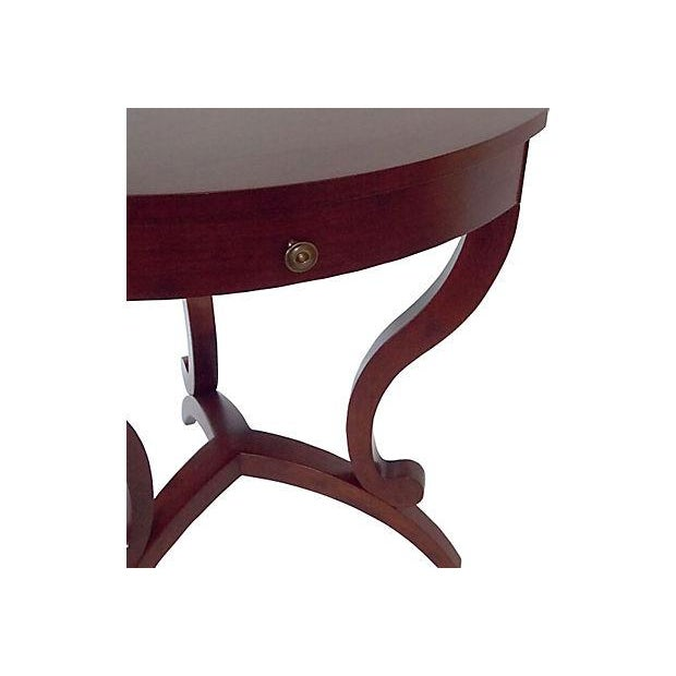 Modernist Cornered Side Tables - A Pair - Image 5 of 9