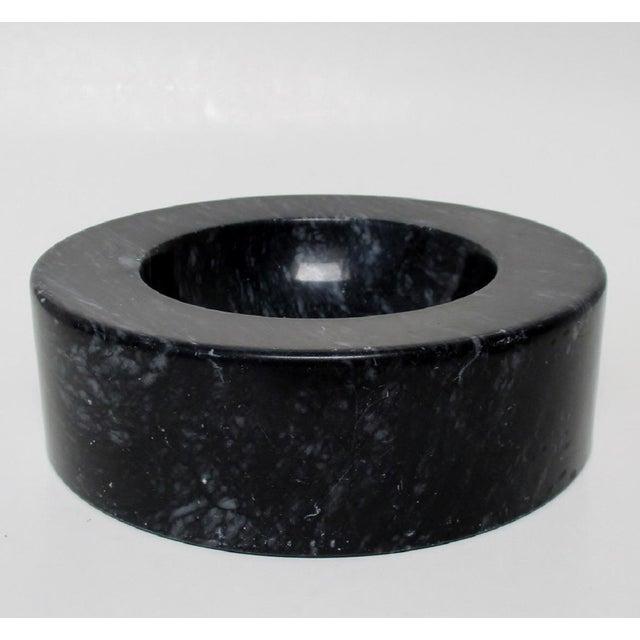 Vintage Black Marble Bowl - Image 3 of 7