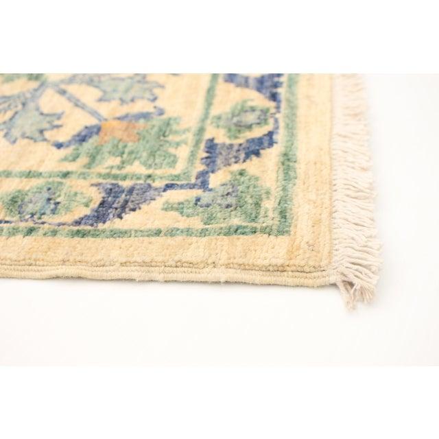 "2010s Uzbek Folk Design Handmade Wool Rug-8'x10"" For Sale - Image 5 of 8"