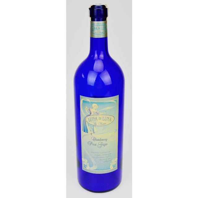 Luna di Luna Wine Display Bottle For display, an unopened and empty Luna di Luna Chardonnay & Pinot Grigio - 1998 Ca'...