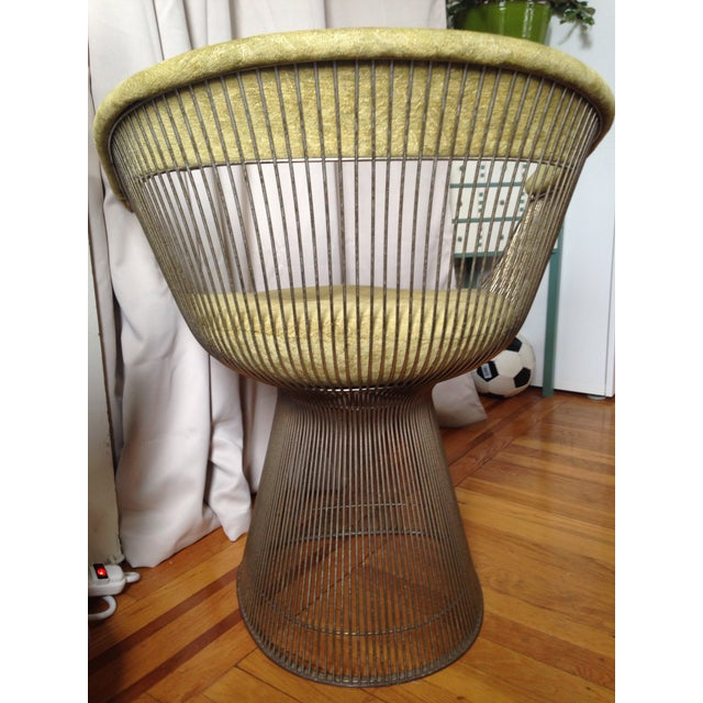 Knoll Knoll Warren Platner Chair For Sale - Image 4 of 10