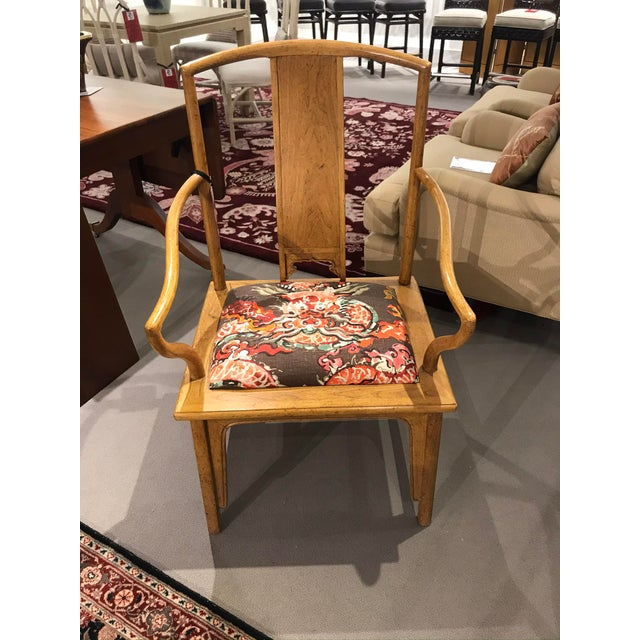 1960s Ming Style Baker Arm Chair For Sale In Detroit - Image 6 of 6