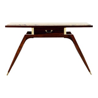 Vintage Console Table by Ico Parisi For Sale