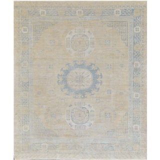 "Mansour Quality Handwoven Khotan Rug - 8'2"" X 9'11"""