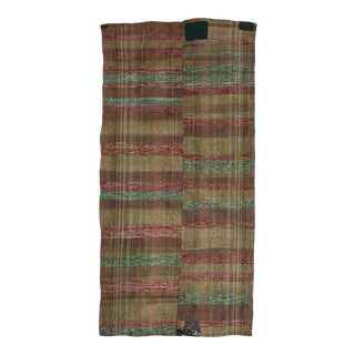 Vintage Turkish Rag Rug For Sale