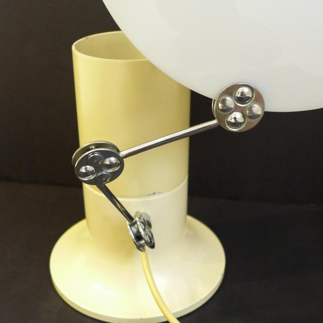 Yellow Aureola Lamp by Ivo Sedazzari For Sale - Image 8 of 10