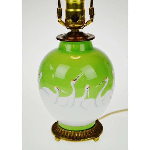 Vintage Morimura Bros. Noritake Vase Table Lamp - Image 4 of 11