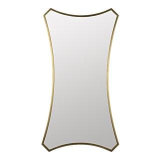 Montague Mirror, Antique Brass For Sale