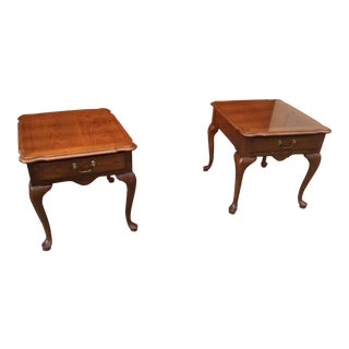 Vintage Thomasville Nightstands - a Pair For Sale