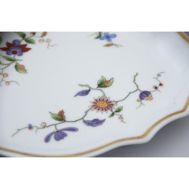 Italian Richard Ginori Oriente Italian Porcelain Relish Dish For Sale - Image 3 of 8