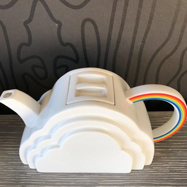 Japanese Cloud and Rainbow Teapot and Mug Set - Image 5 of 7