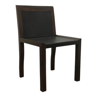 Orianna Chair in Argentine Rosewood and Wrapped Leather From Costantini For Sale