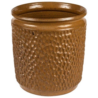 Robert Maxwell & David Cressey for Earthgender Thumbprint Planter For Sale