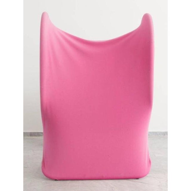 1970s Pink Fiocco Chair by Gianni Pareschi for Busnelli For Sale - Image 5 of 6