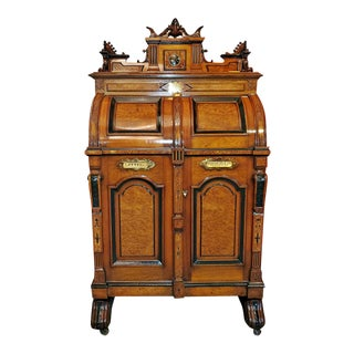 Superior Grade Wooten Desk With Outstanding Provenance For Sale