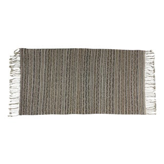 Striped Moroccan Handira Throw For Sale