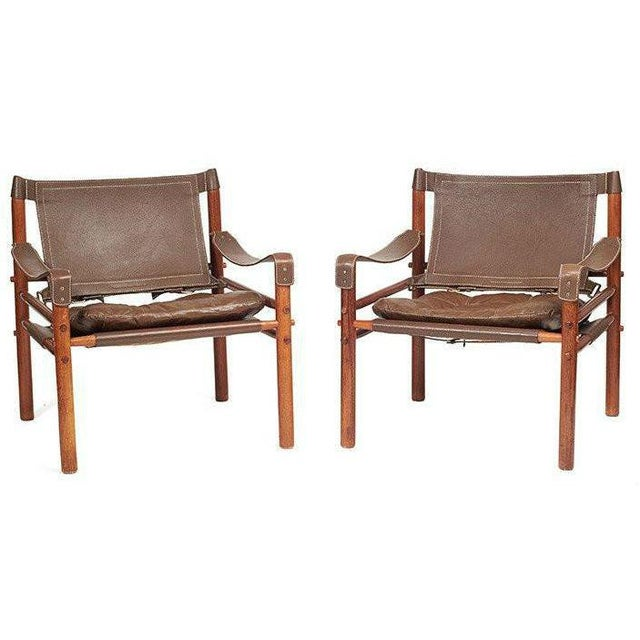 Arne Norell Safari Chairs - A Pair - Image 1 of 8