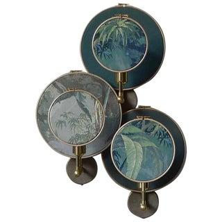 Circle Blue Grey, Wall Sconce Ensemble, Sander Bottinga For Sale
