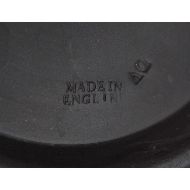 "1940s Neoclassical Greek Figurative Wedgwood Jasperware Black ""Sacrifice Bowl"" For Sale - Image 9 of 10"