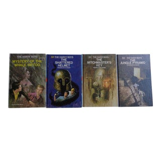 Vintage Hardy Boys Mystery Stories Books - Set of 4 For Sale