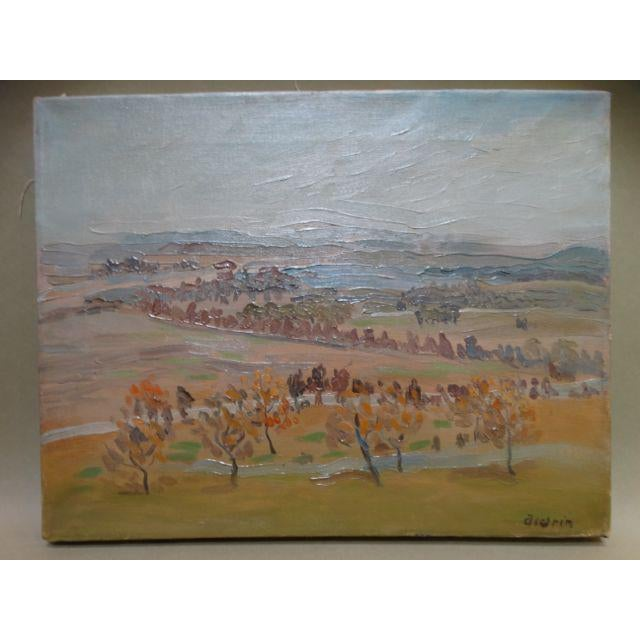 California Winter Fields Painting by Anders Aldrin - Image 3 of 8