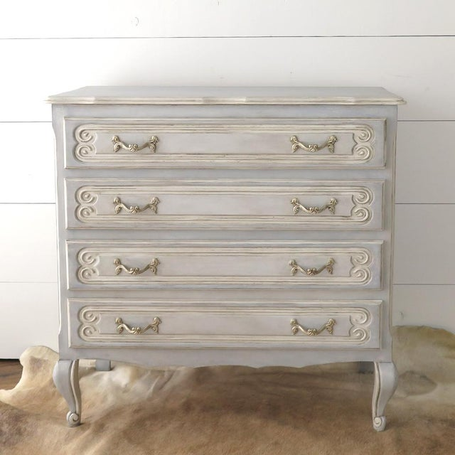 French Blue Commode - Image 2 of 11
