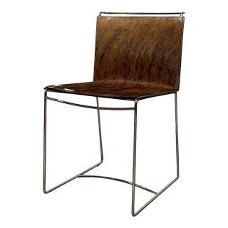 Modern Ligne Roset Fil Cowhide Chair For Sale