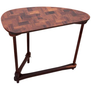 Don S. Shoemaker Side Table in Rosewood in Excellent Condition For Sale
