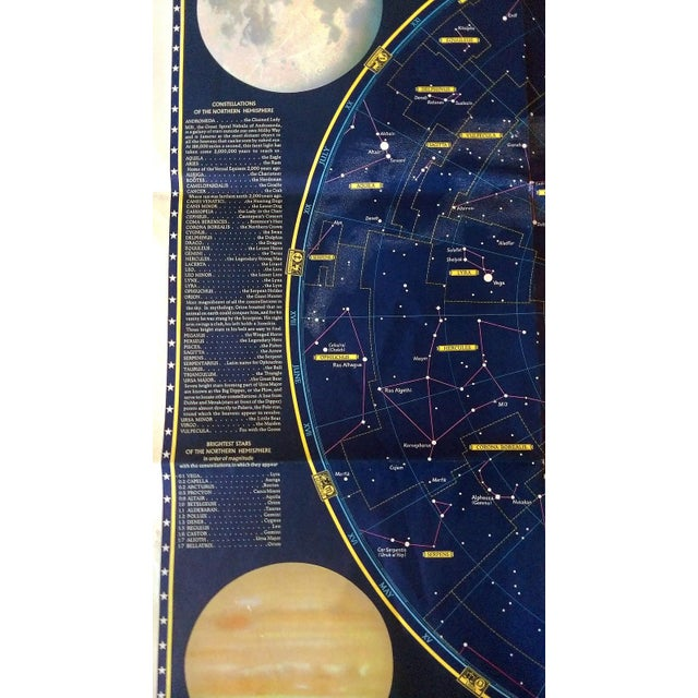 """National Geographic Map of """"The Heavens"""" - Image 5 of 10"""