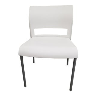 Contemporary White Plastic Steelcase Move Chair