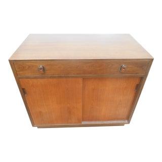Vintage 1960's Dunbar Furniture Credenza / Buffet / Dry Bar For Sale