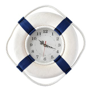 Nautical Lifesaver Wall Clock For Sale