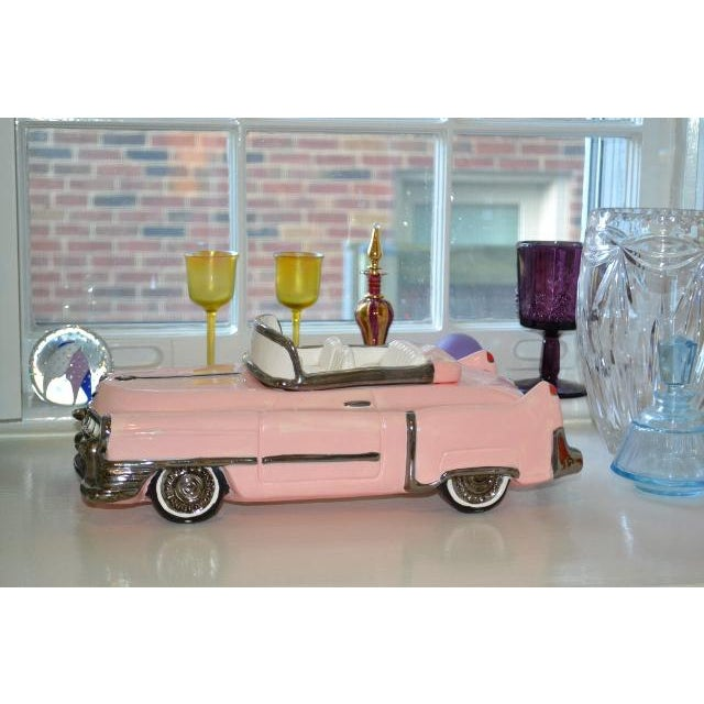 Love this Pink Cadillac cookie jar purchased in San Francisco, CA. over 30 years ago from an estate.