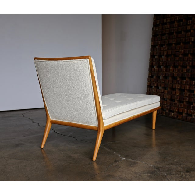 T.H. Robsjohn-Gibbings Chaise Lounge for Widdicomb, Circa 1955 For Sale In Los Angeles - Image 6 of 13