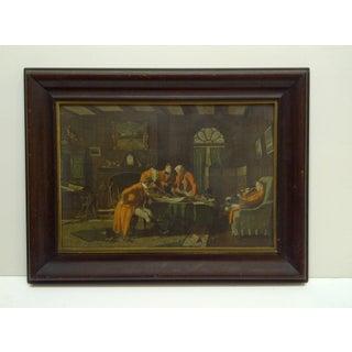 """Vintage Framed Print """"The Gentlemen"""" Preview"""