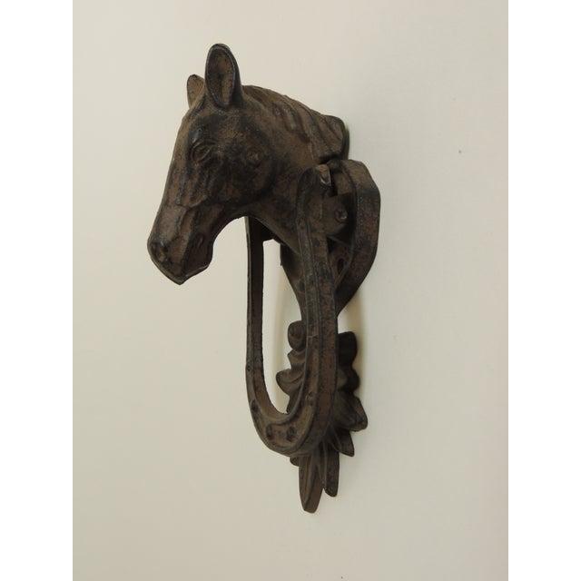 Rustic Iron Horse Door Knocker - Image 4 of 4