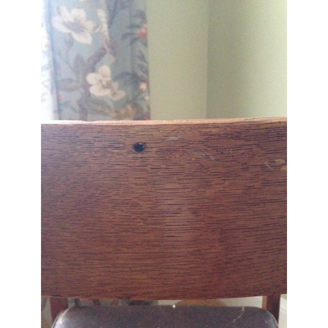 Early 20th-C. Stickley Dining Armchair - Image 5 of 5