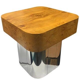 Midcentury Paul Evans Burl Cityscape Table For Sale