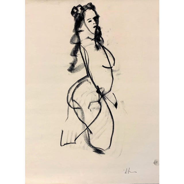 Contemporary Cody Sketch III by Heidi Lanino - 18 X 24 For Sale - Image 3 of 3