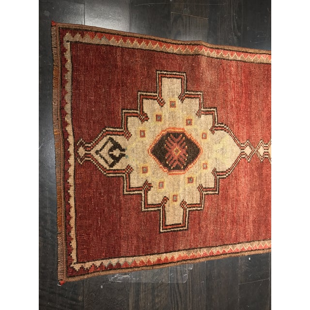 "Bellwether Rugs Vintage Turkish Oushak Runner - 2'4"" X 10'5"" - Image 4 of 10"