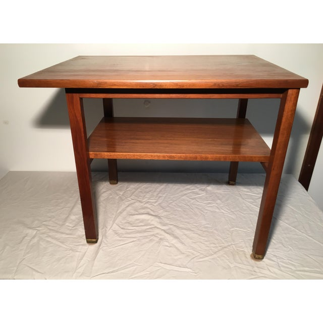 Edward Wormley for Dunbar 2 Tier Lamp Table - Image 6 of 6