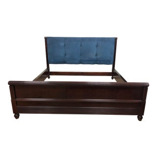 Hickory Chair Eastern King Size Anne Bed Frame For Sale